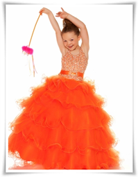 sugar pageant dress