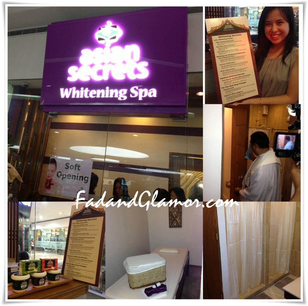 asian secrets whitening spa